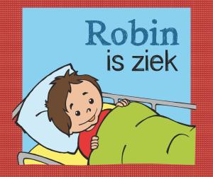 Robin is ziek_ voorkant