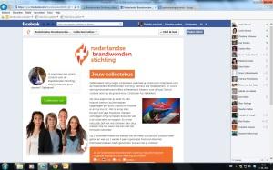 Printscreen Facebook collectebus scherm 4a