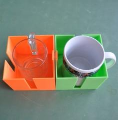 De SafeTea dwingt gebruikers de kop koffie of thee in een niet-verschuifbare houder te zetten.