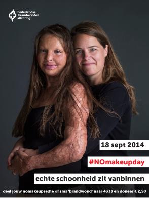 poster NO make up day © Koos Breukel