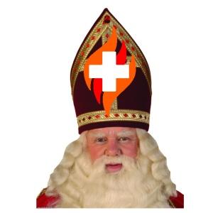 Sinterklaas met logo